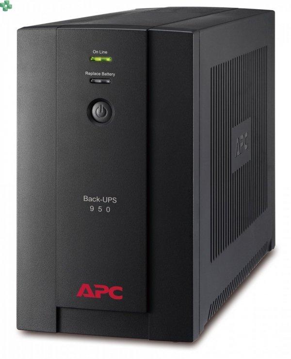 BX950U-GR APC Back-UPS 950VA/480W, AVR, gniazda Schuko