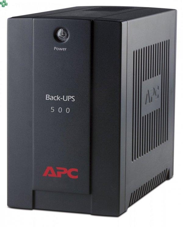 BX500CI APC Back-UPS 500VA/300W, AVR, gniazda IEC C13