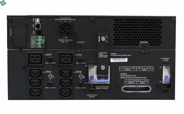 GXT5-5000IRT5UXLE Zasilacz UPS VERTIV Liebert GXT5 5kVA/5kW, 5U, On-Line, PF=1, gniazda na wyjściu, 230V