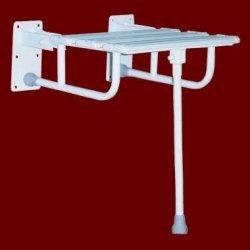Krzesełko Prysznicowe Uchylne z Nogą