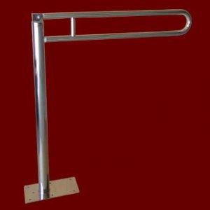 Uchwyt Uchylny do WC Wolnostojący INOX fi 25mm  - Różne Rodzaje