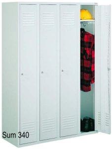Szafa Ubraniowa Sum 340/341 Czterodrzwiowa Szerokość Modułu 30cm - Różne Rodzaje i Kolory