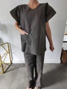 Ubranie Jednorazowe 70 GRAM nieprzezierne  opakowanie 25 sztuk