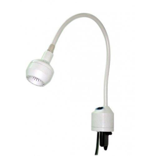 Lampa Badawczo-Zabiegowa FLH-2 LED Bezcieniowa, z Gęsią Szyją, Ścienna