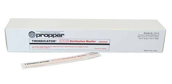 Twindicator Test Kontroli Sterylizacji - op. 2x250szt.