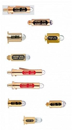 Żarówki i Wkłady Diodowe LED do Laryngoskopów Heine - Różne Rodzaje