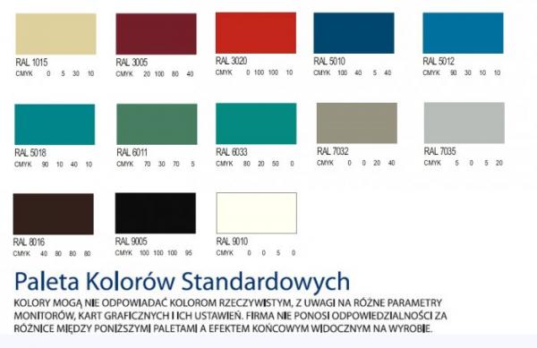 Szafa Ubraniowa Sum 410/411 Jednodrzwiowa Szerokość Modułu 40cm - Różne Rodzaje i Kolory