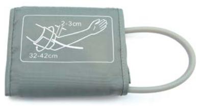 Mankiet do Ciśnieniomierzy Elektronicznych Jednodrenowy Uniwersalny - Różne Rozmiary