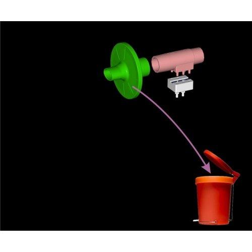 Przepływomierz Pink Flow Welokrotnego Użytku do Spirometru PDD Bezturbinowego