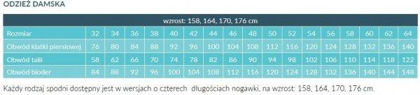 Fartuch Damski 0210 - Różne Rodzaje