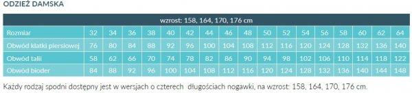 Fartuch Damski 0035 - Różne Rodzaje