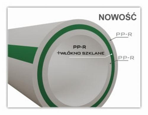 RURA PP FI 32 STABILIZOWANA WŁÓKNEM SZKLANYM Stabi Glass