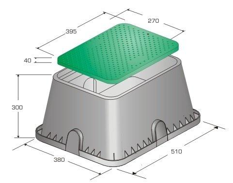 Studzienka Skrzynka Standard do Elektrozaworów