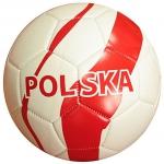 Hokus- opłatek na tort okrągły piłka futbolowa Polska