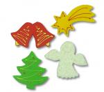 Dekoracja świąteczna bożonarodzeniowa z gwiazdą