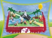 Kardasis - zestaw do dekoracji tortu Królewna Śnieżka i krasnoludki