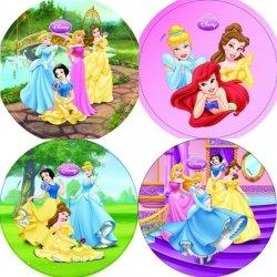 Modecor - opłatek na tort okrągły Disney Princesses