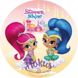 Modecor - Opłatek na tort Shimmer i Shine A
