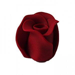 Róża duża 22 szt. bordowa