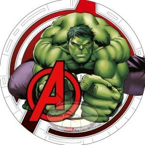 Modecor - opłatek na tort Avengers - Hulk
