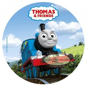Opłatek na tort Tomek i Przyjaciele