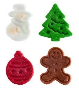 Dekoracja świąteczna bożonarodzeniowa z choinką