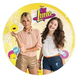 Modecor - Opłatek na tort Soy Luna i Valentina