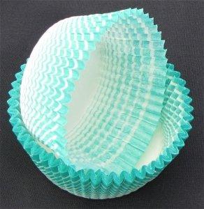 Papilotki - foremki do mufinek zielone  50 mm 100 szt.