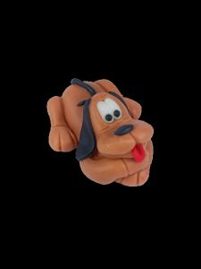 Figurka cukrowa pies leżący 1szt