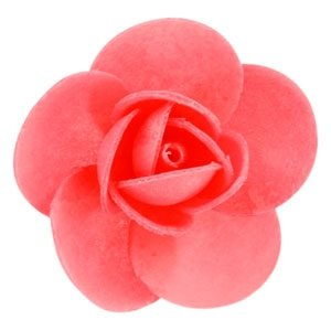 Róża opłatkowa 3 szt. - kolor do wyboru