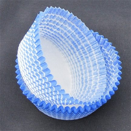 Papilotki - foremki do mufinek niebieskie 35 mm 100 szt.