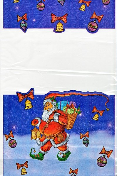 Woreczki upominkowe świąteczno-mikołajkowe M 1 szt.