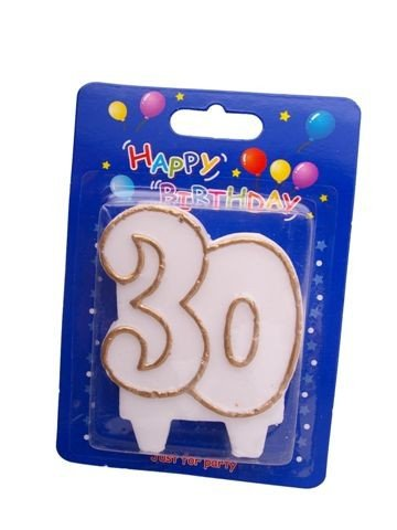 """Świeczka cyfra """" 30 """""""