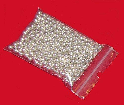Posypka cukrowa - Włoskie Perełki Srebrne 5 mm - 50g