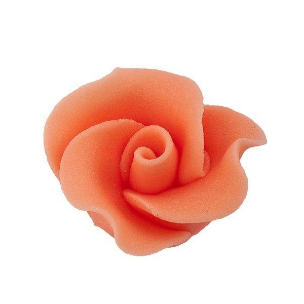 Róża mała 22 szt. łososiowa