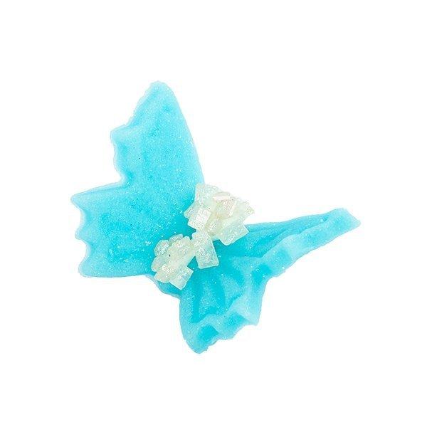 Motylki cukrowe małe niebieskie 20 x 5 szt.