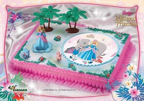 Kardasis - zestaw Barbie opłatek + figurka + dekoracja