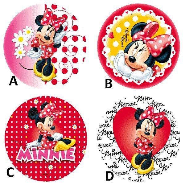 Modecor - dekoracja cukrowa na tort okrągły Mickey Mouse Series opak. 12 szt.