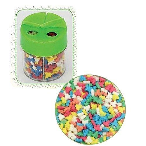 Posypka dekoracyjna confetti kokardki kolorowe 15g