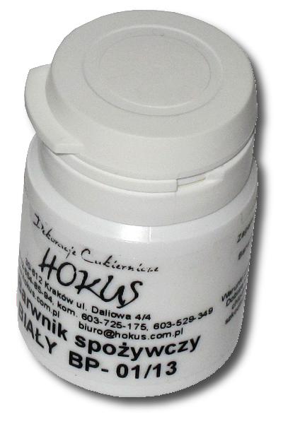 Hokus - Barwnik spożywczy w proszku biały 8g