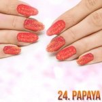 24. SEQUIN QUARTZ EFFECT - PAPAYA