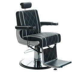 Fotel Barberski Odys BH-31825M Czarny BS