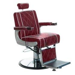Fotel Barberski Odys BH-31825M Burgund BS