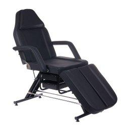 Fotel Kosmetyczny z Kuwetami BW-263 - Czarny BS