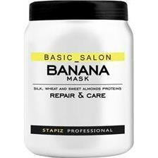 STAPIZ - Maska Basic Salon Banana 1000 ml