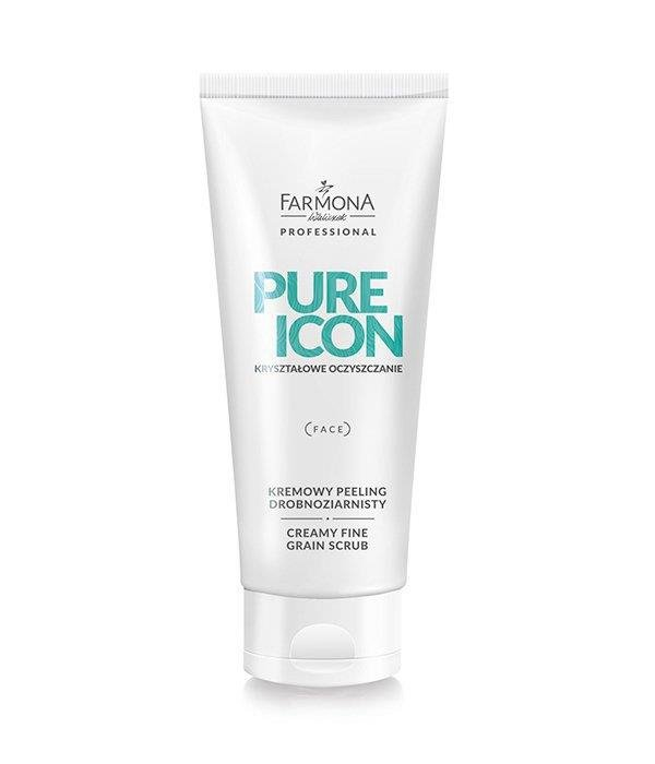 Farmona Pure Icon - Kremowy Peeling Drobnoziarnisty Do Twarzy 200 ml