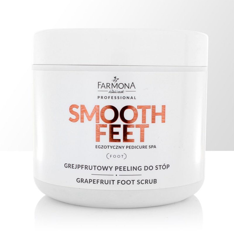 Farmona Smooth Feet - Egzotyczny Pedicure SPA Grejpfrutowy Peeling Do Stóp 690 g