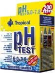 Tropical pH Test 6.0-7.8 do wody słodkiej