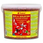 Tropical Koi&Goldfish Colour Sticks 5l/450g