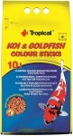Tropical Koi&Goldfish Colour Sticks - worek 10l